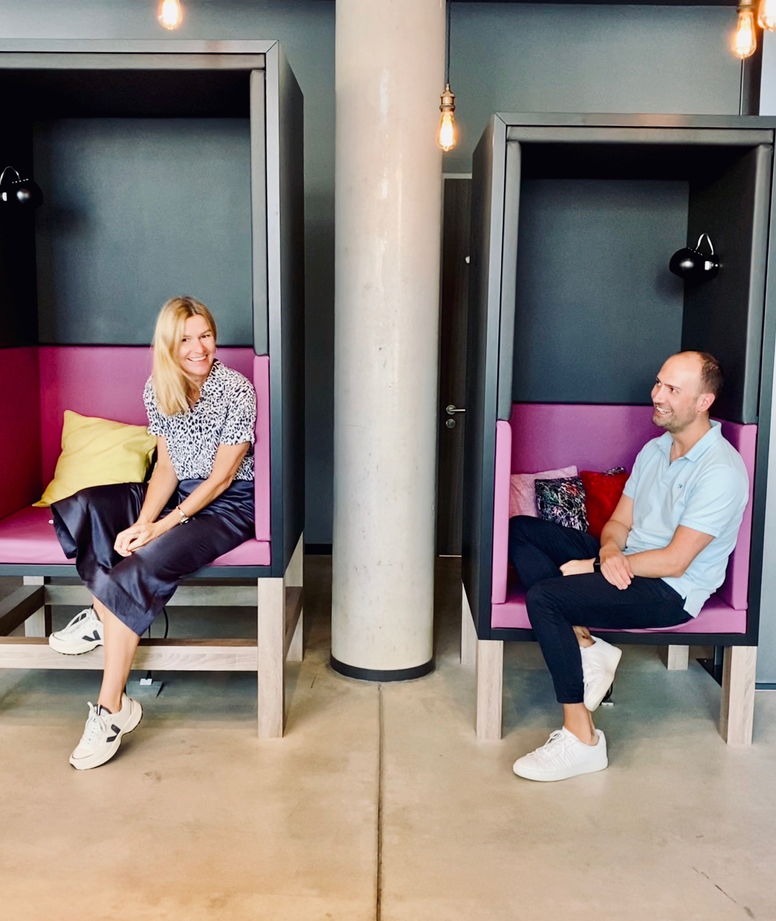 Gut gecoached durch den Job: Moxy Frankfurt East