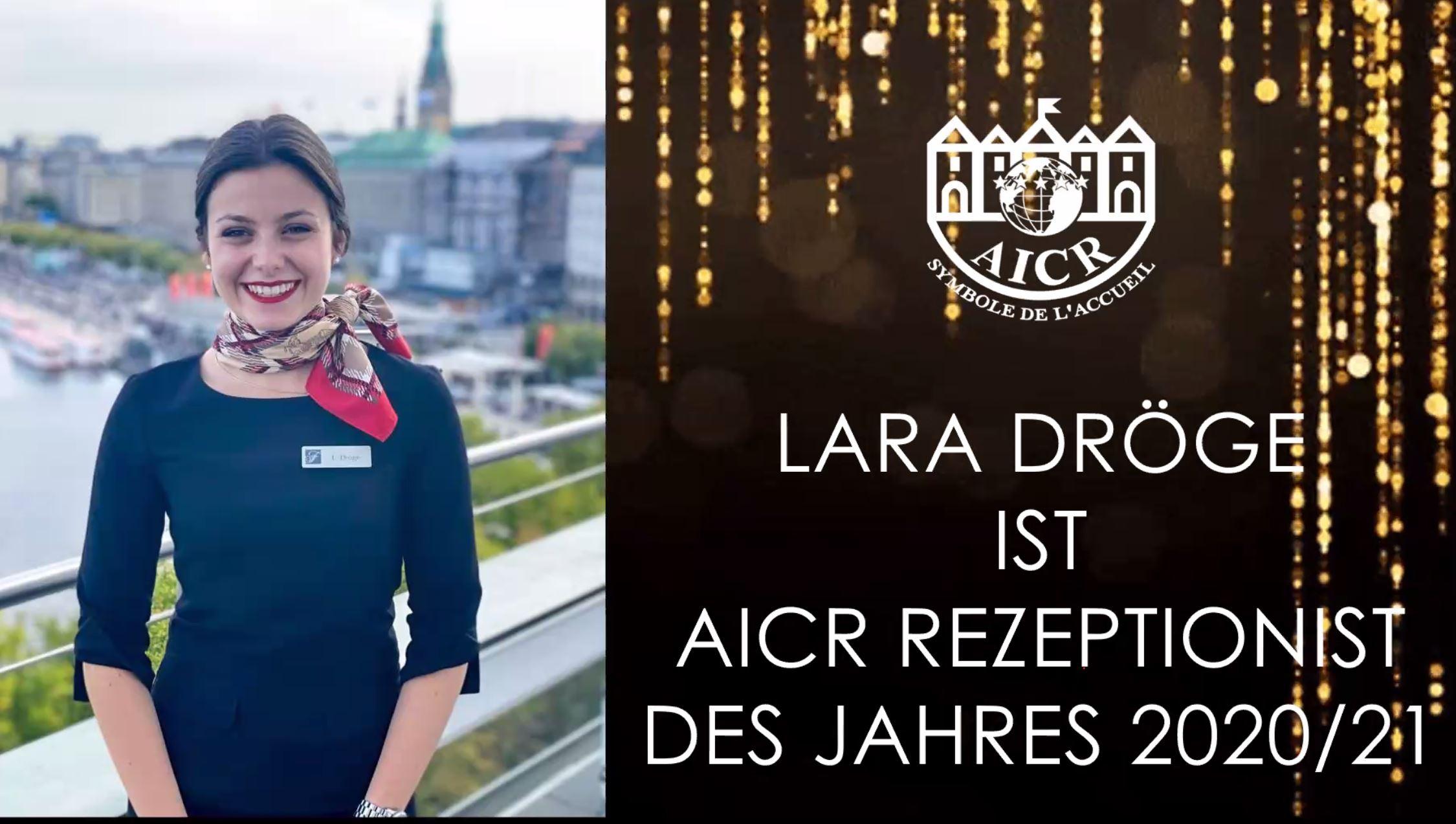 Deutschlands beste Rezeptionistin arbeitet im Fairmont Hotel Vier Jahreszeiten Hamburg